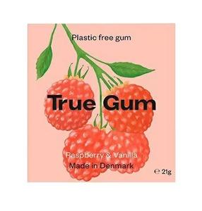 Bilde av True Gum Tyggegummi Raspberry & Vanilla
