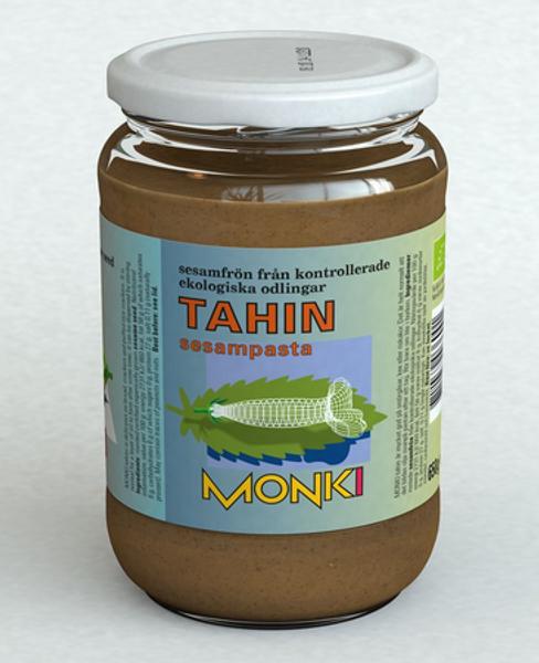 Monki Tahini Sesamsmør uten salt 330g