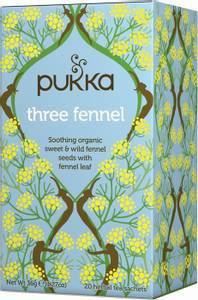 Bilde av Pukka Three Fennel Tea 20 poser
