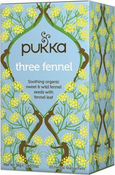 Pukka Three Fennel Tea 20 poser