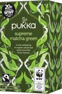 Bilde av Pukka Supreme Matcha Green Tea 20 poser
