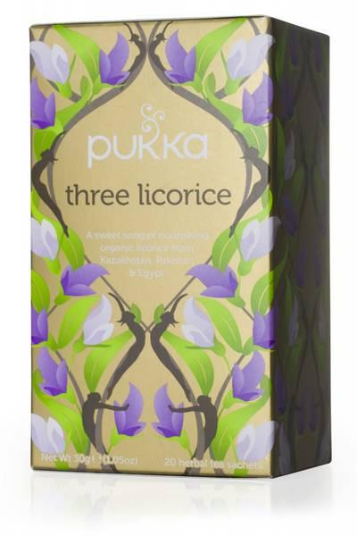 Pukka Three Licorice Tea 20 poser