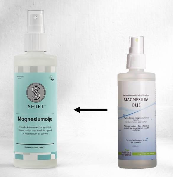 SHIFT Magnesium olje sprayflaske 200 ml