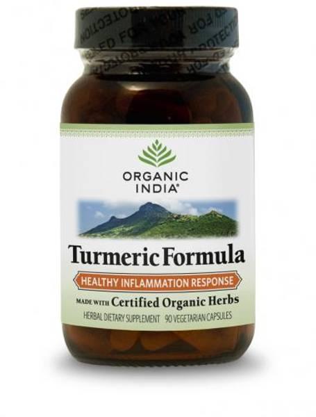 Organic India Turmeric Formula 90 kapsler