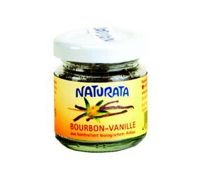 Bilde av Naturata Bourbon Vanilje finmalt 10 g pulver