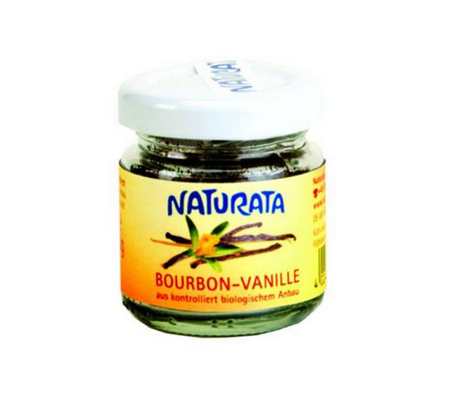Naturata Bourbon Vanilje finmalt 10 g pulver