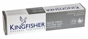 Bilde av Kingfisher Tannkrem Aloe Vera Tea-Tree Mint uten fluor 100 ml