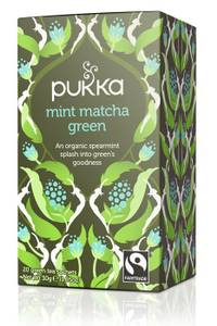 Bilde av Pukka Mint Matcha Green Tea 20 poser