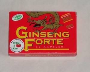 Bilde av Ginseng Forte 30 kapsler