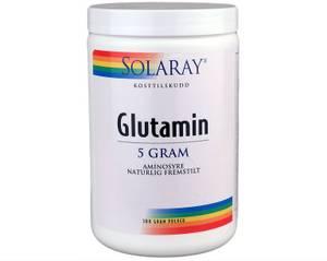 Bilde av Solaray Glutamin pulver 300g