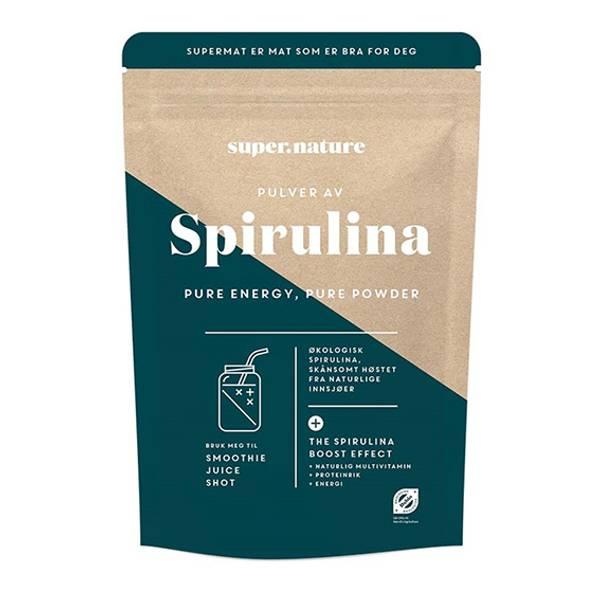 Supernature Spirulina 150 g pulver